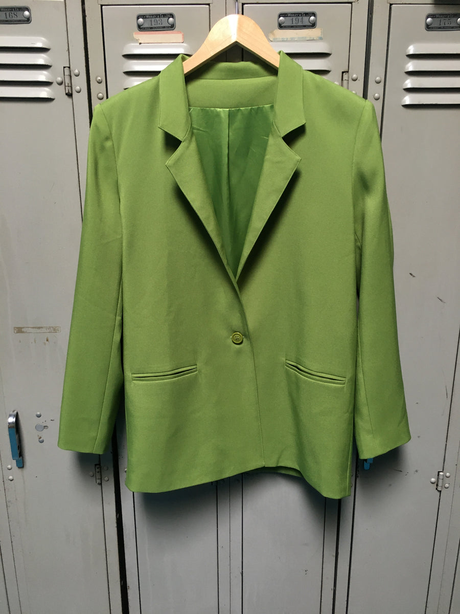 Sample Booger Green Blazer M/L