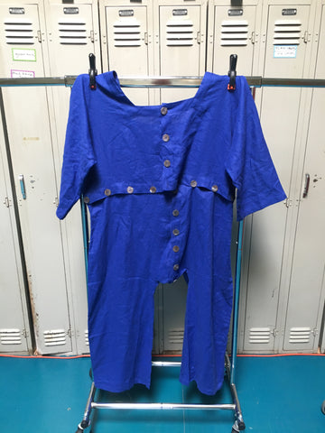 Sample Linen Jumpsuit of the future 2XL