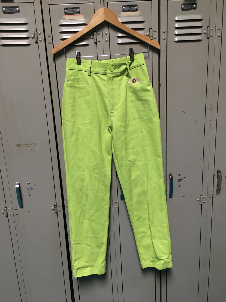 Sample Lime Green Boob Trousers S