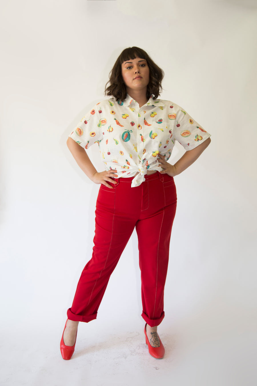 Cowgirl Pants Red