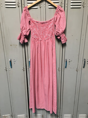 Sample Square Neck Picnic Dress M
