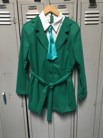 Sample Green Power Suit Dress S
