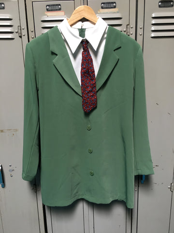 Sample Dark Green Suit Dress M