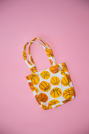 Tiny Basketball Purse