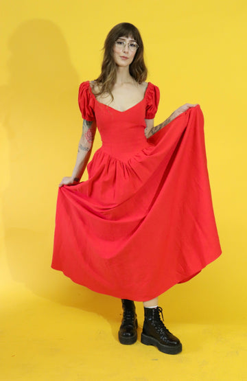 The Virgin Gown Red