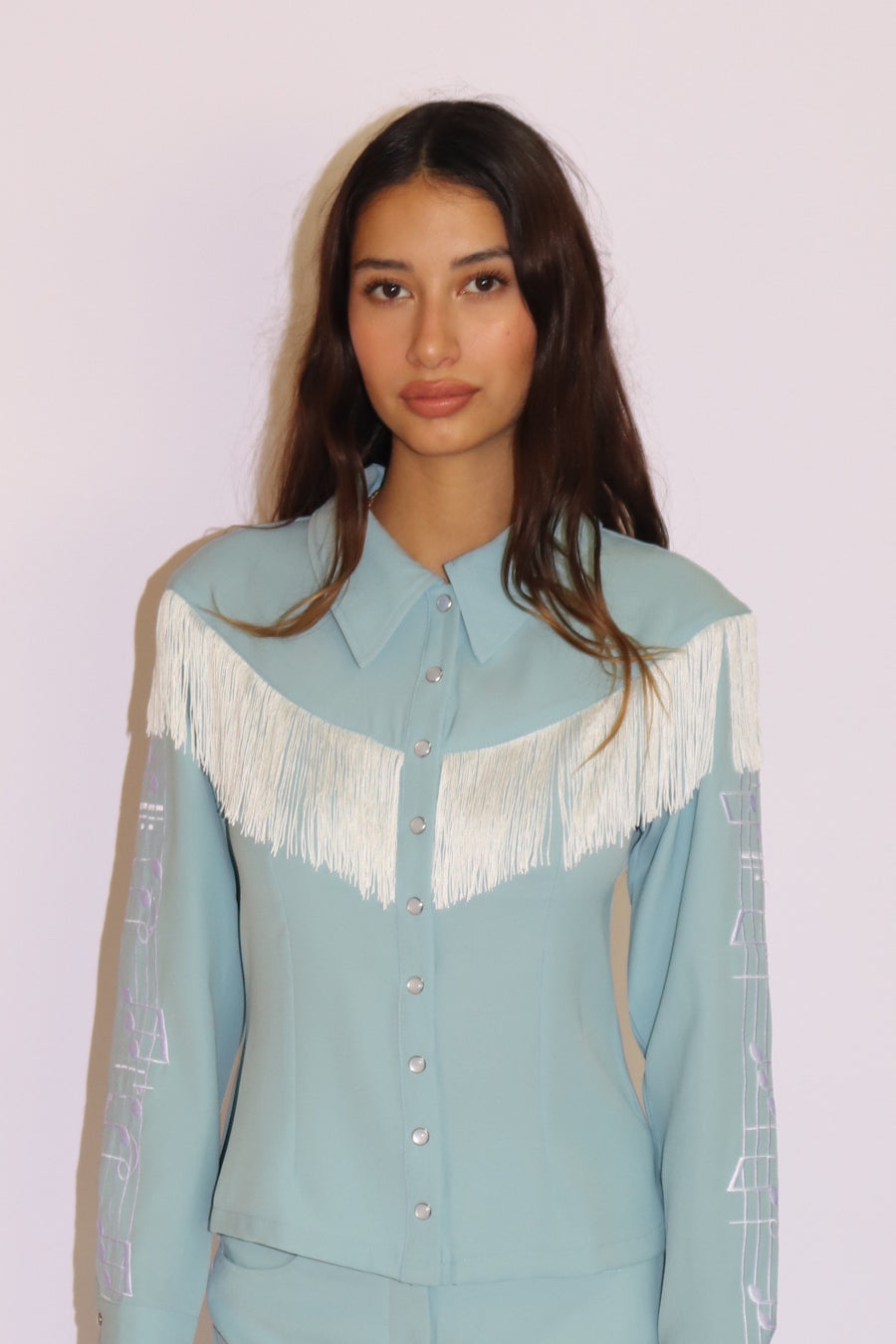 Patsy Shirt Powder Blue