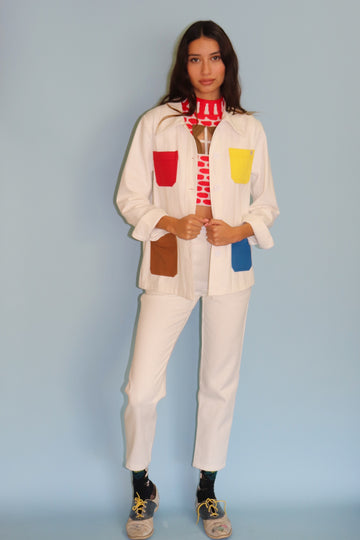 Painter's Pallet Shirt Jacket