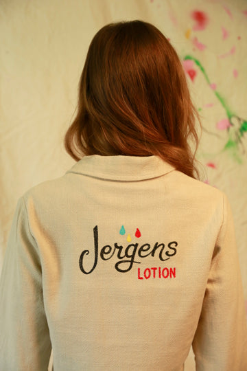 Jergens Lotion Linen Jacket