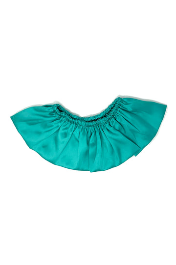 Teal Satin Collar