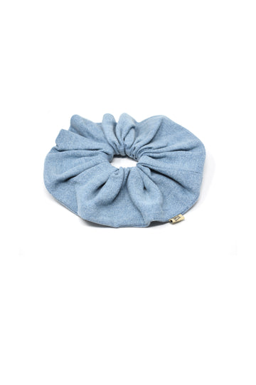 Denim Jumbo Scrunchie