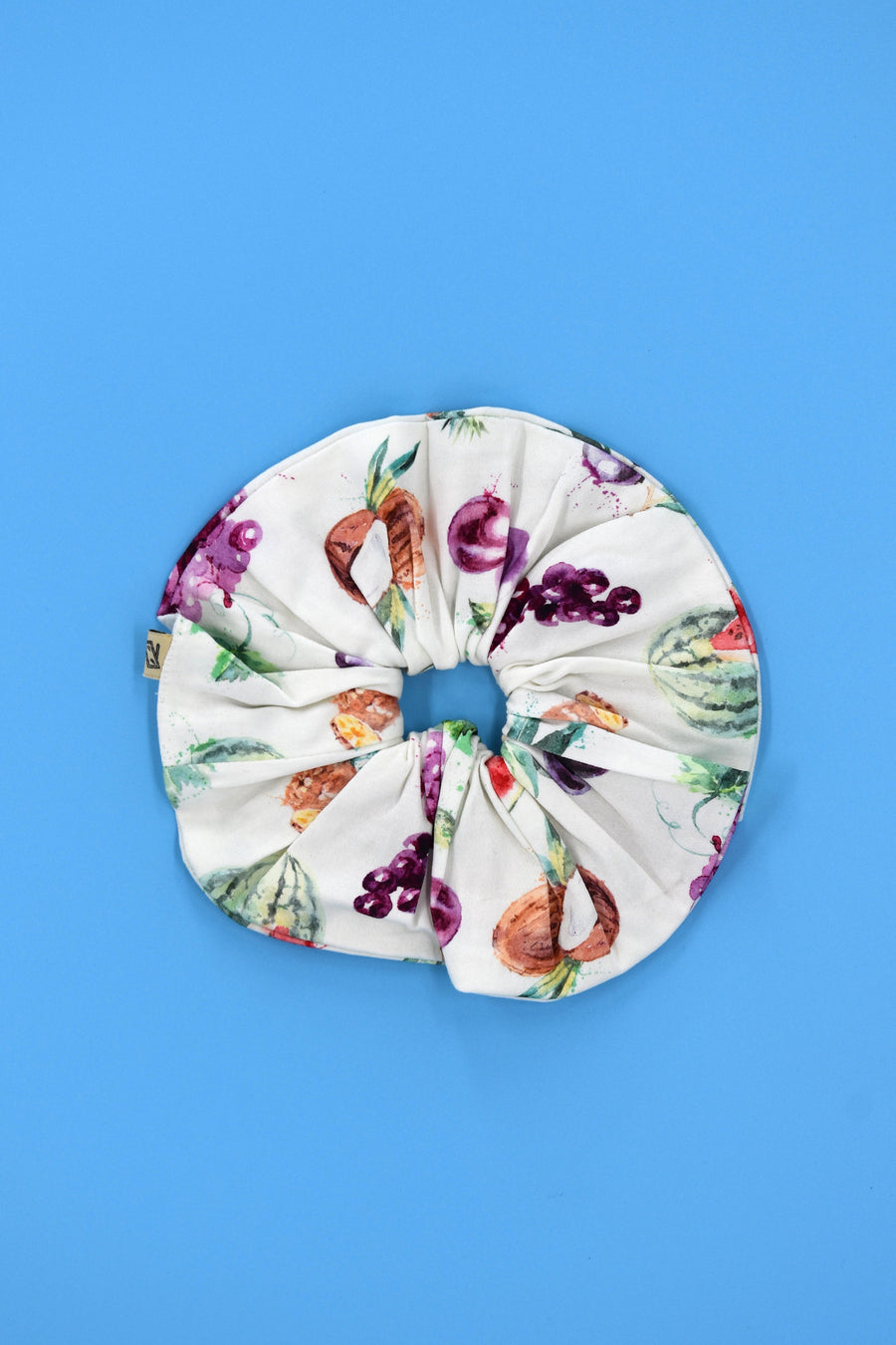 Fruit Jumbo Scrunchie