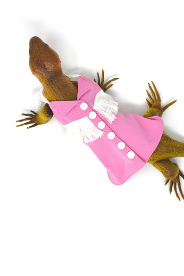 Lizard Pink Cowgirl Dress