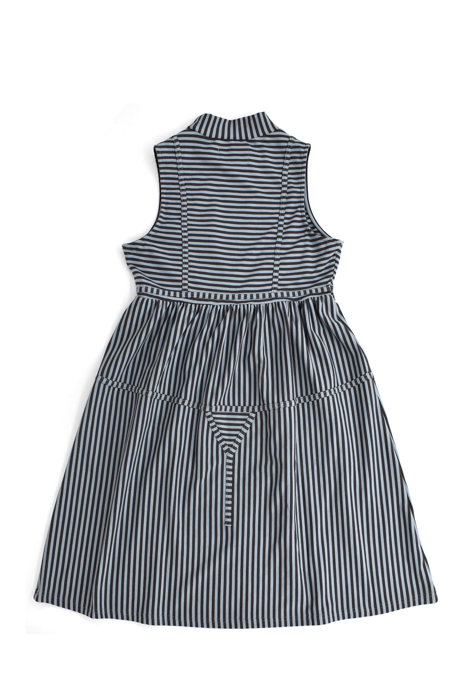 Striped Bikini Seams Dress
