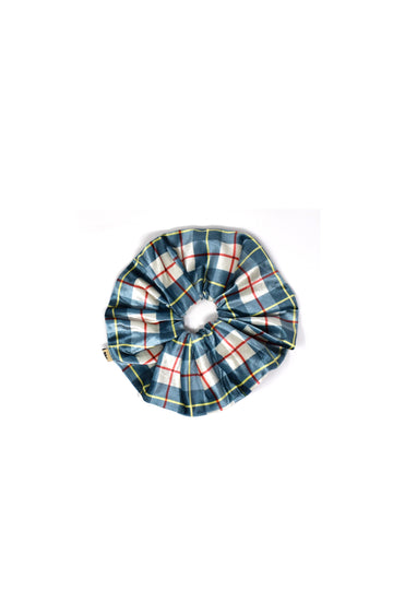 Final sale- Plaid Satin Scrunchie