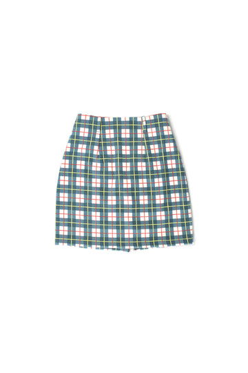 3 left- Plaid Pencil Skirt