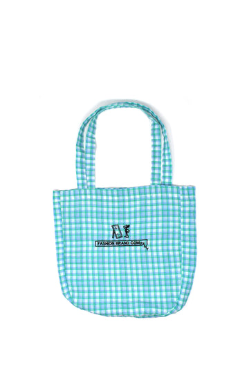 Green Plaid FBC Tote