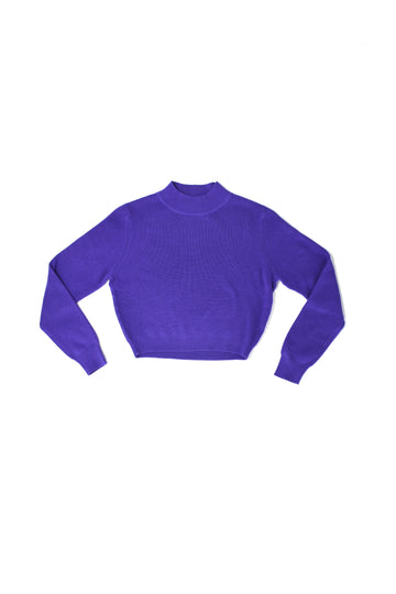 Grape Cotton Sweater
