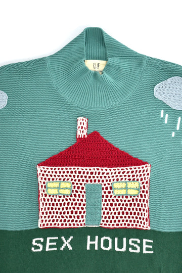 Sex House Unisex Sweater Rainy Day
