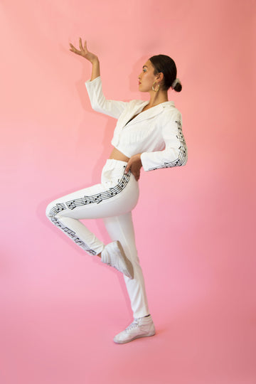 Patsy Trousers White