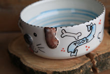 Load image into Gallery viewer, Dog bowl | customized dog name | FREE SHIPPING