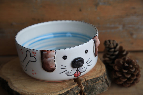 Dog bowl | customized dog name | FREE SHIPPING