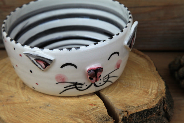 Cat bowl | personalized cat name | FREE SHIPPING
