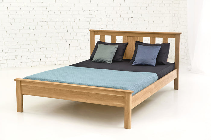 Edmonton Solid Oak Bed 6ft - Super King Size