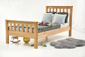 Lyon Solid Oak Bed 3ft - Single
