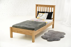 Rennes Solid Oak Bed 3ft - Single