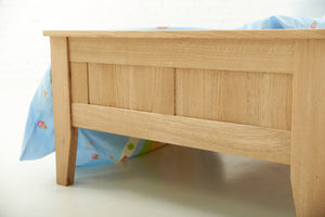 Toronto Solid Oak Bed 3ft - Single Kids Bed