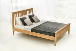 Toronto Solid Oak Bed 5ft - King Size