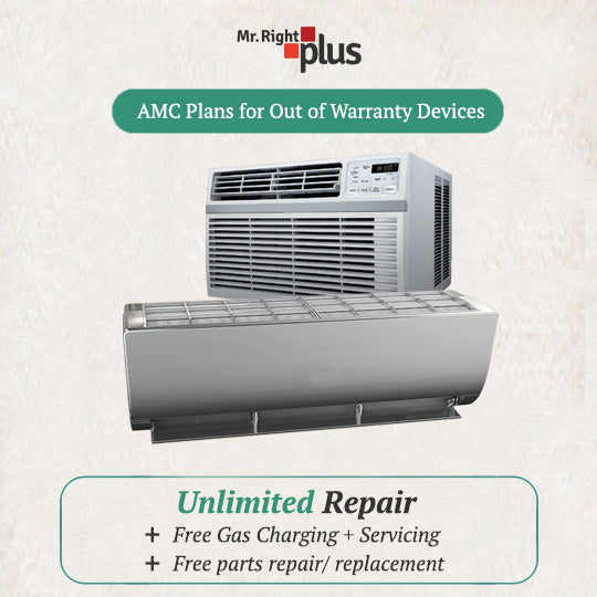 Air Conditioner AMC Plan (including Preventive Services + Gas Refill)