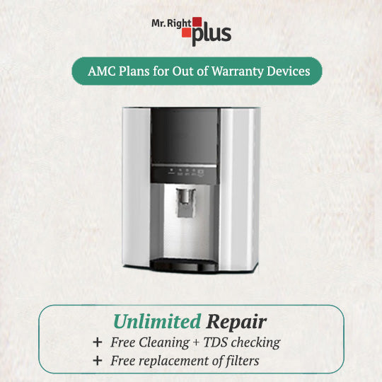 RO Water Purifier AMC Plan (including Services & New Filter Replacement)
