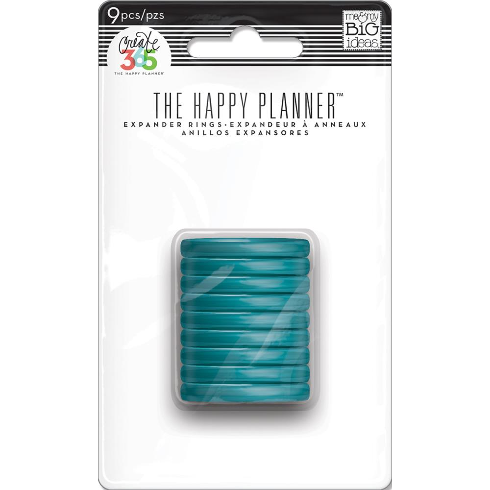 Discos expansores Happy planner- Turquesa 1.25""