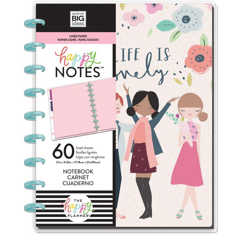 Cuaderno Happy notes- Squad life
