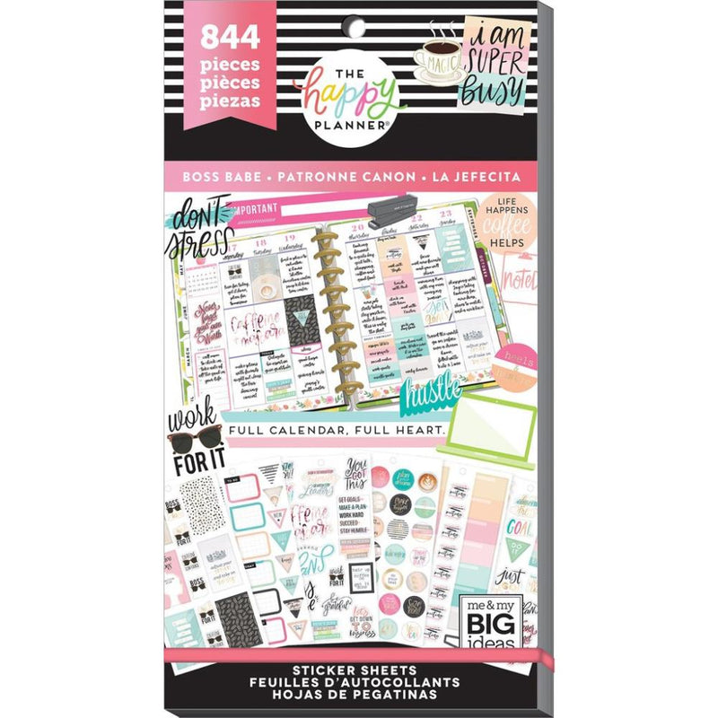 Libro Planner stickers - Boss babe