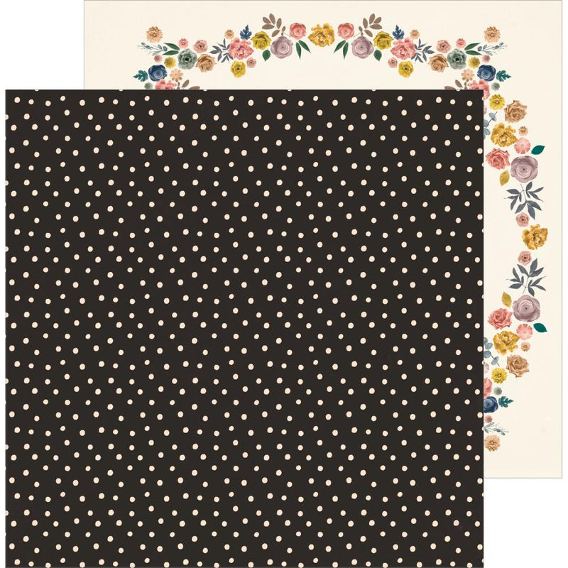 Papel 12x12 doble cara Heritage- Sincerely