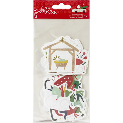 Die Cuts -Merry Little Christmas Icons