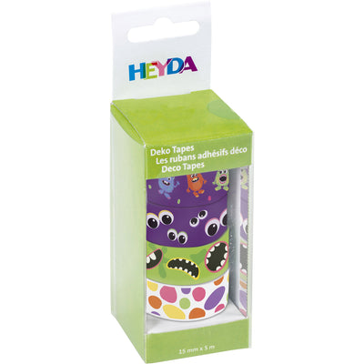 Deco tape Heyda- Monstruos