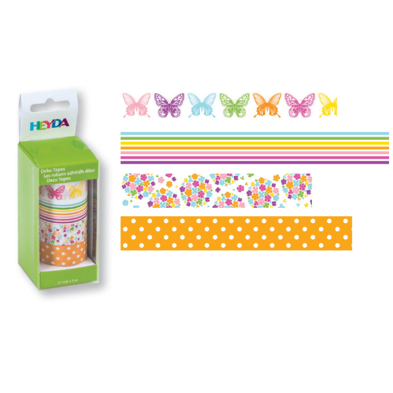 Deco tape Heyda- Mariposas