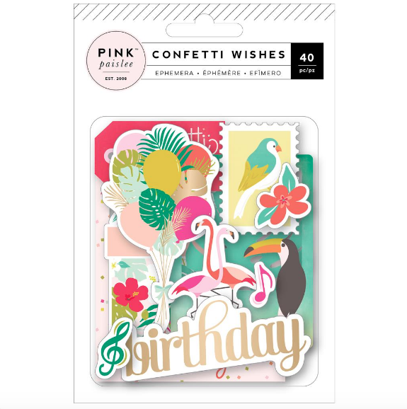 Die cuts - Confetti wishes