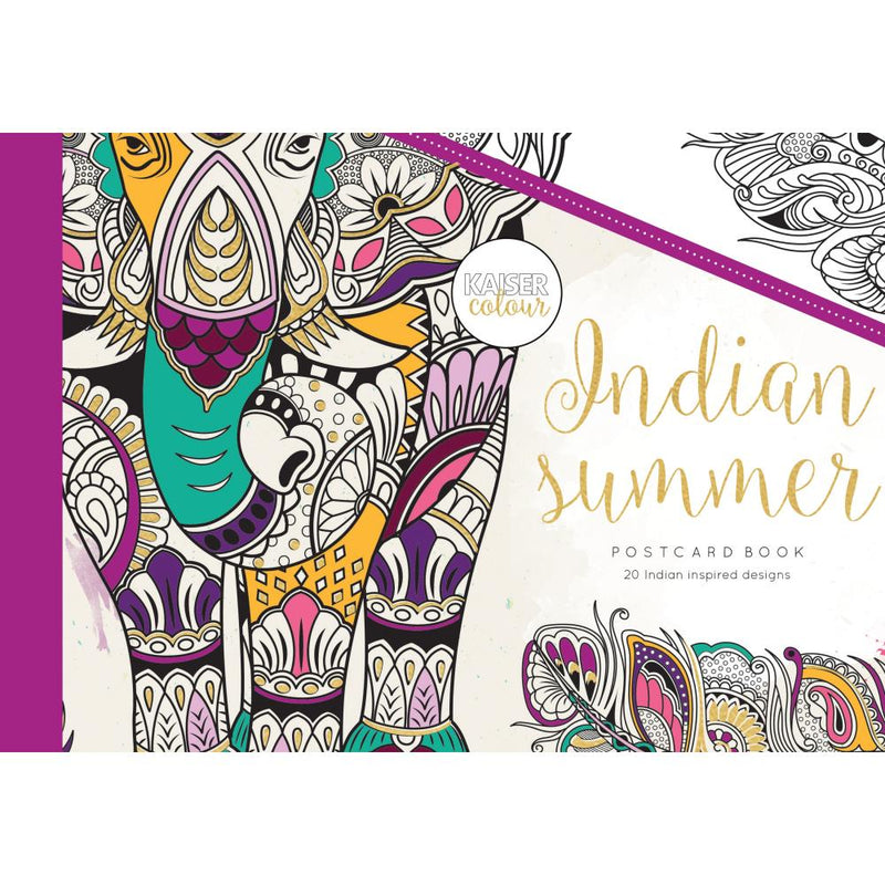 Libro para colorear- Indian summer