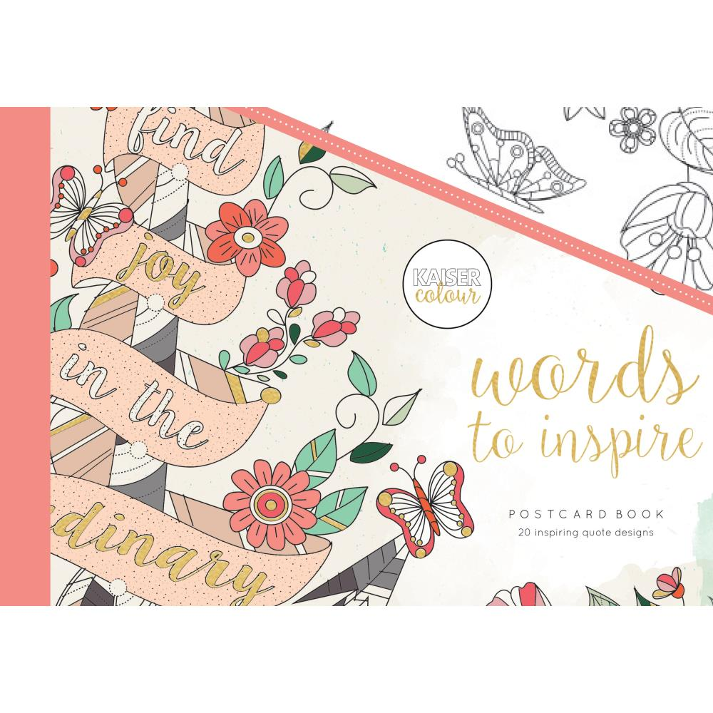 Libro para colorear- Words To Inspire