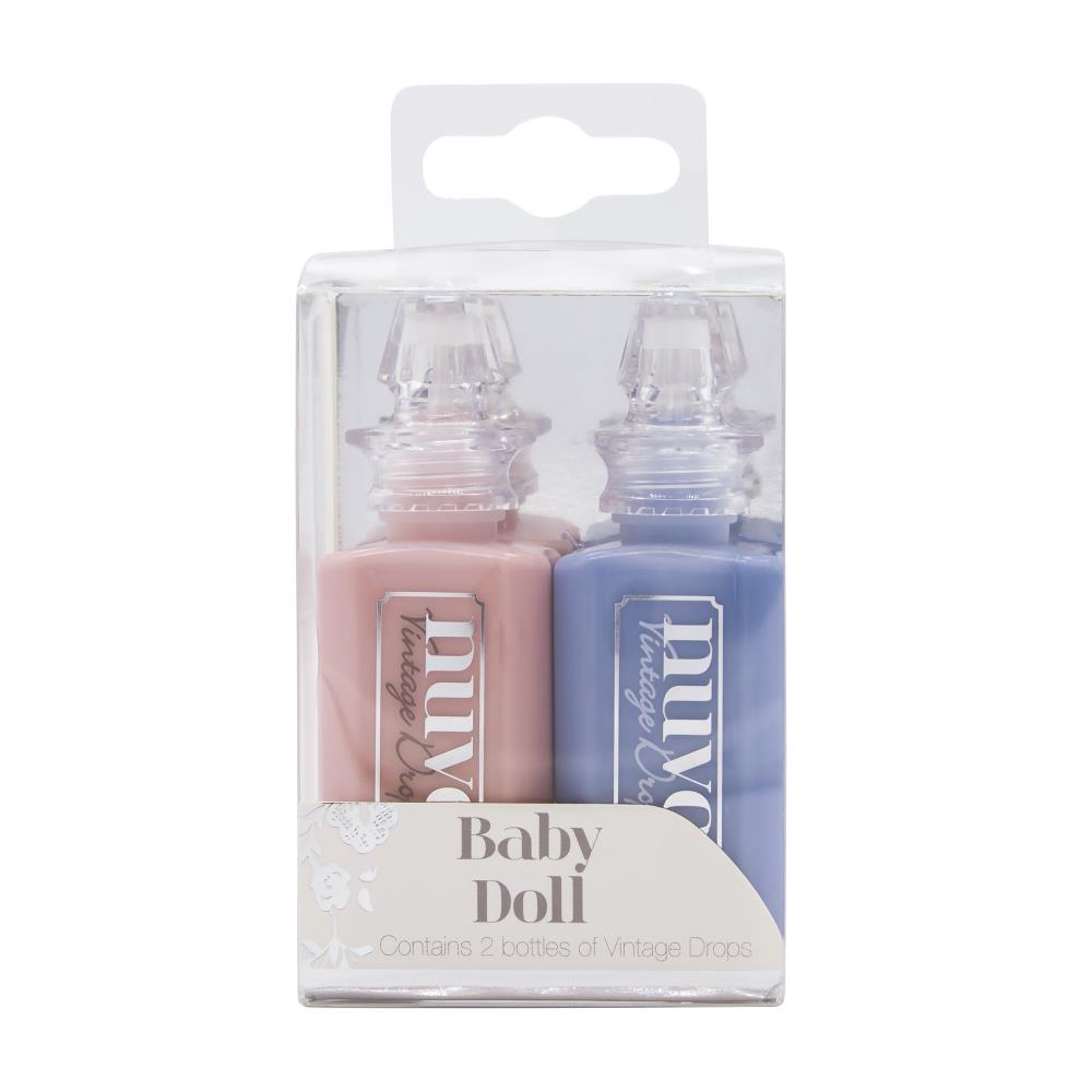 SET 2 Vintage drops Nuvo- Baby doll