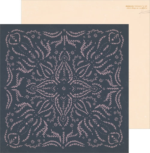 Papel suelto 12x12 Heritage EMBROIDER