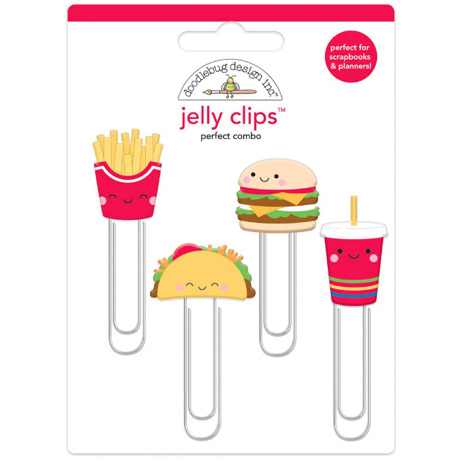 Jelly Clips - Perfect Combo Doodlebug Design - So Much Pun Collection