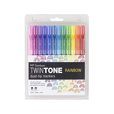Set 12 Twintone Tombow