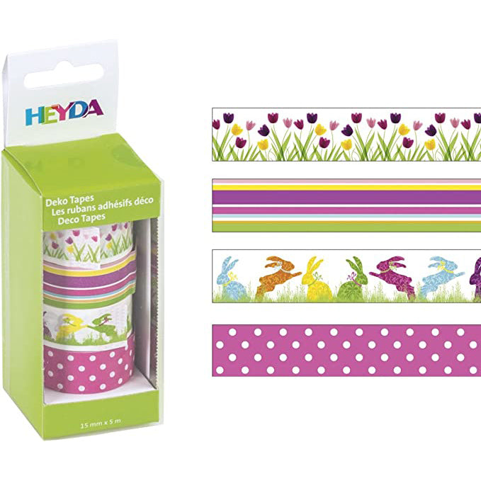 Deco tape Heyda- Tulipanes