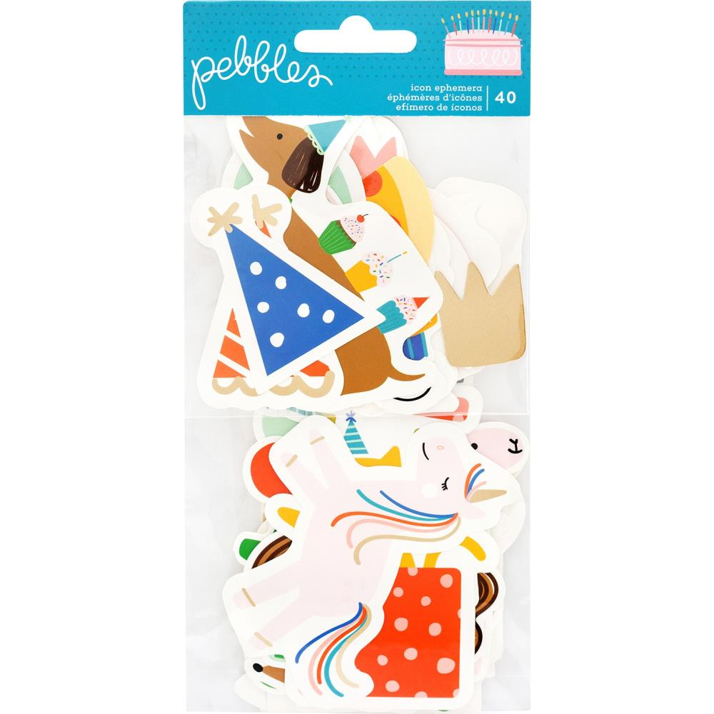 Die cuts- Happy cake Day