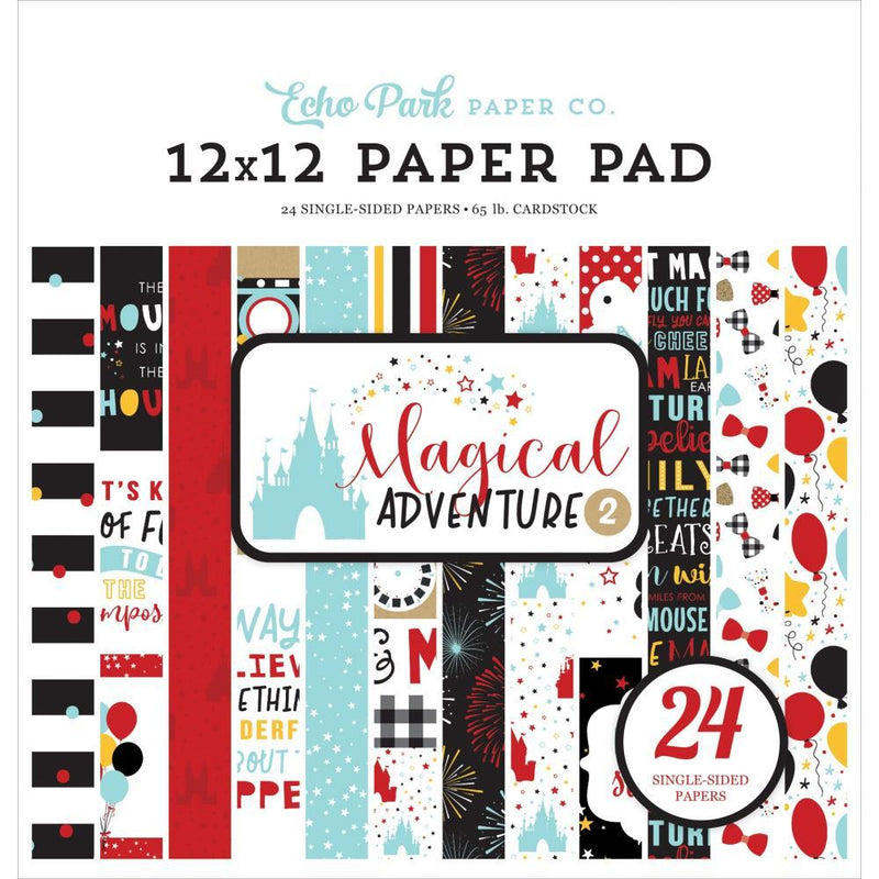 STACK 12x12 PAPELES - MAGICAL ADVENTURES